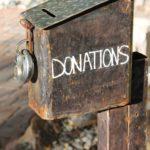 We accept donations, 501 c, tax deductible